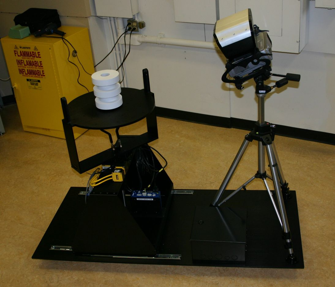 3d scanning platform plc automated ssystem with canning system with motorized rotate and tilt system photo